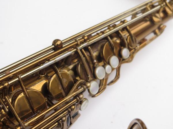 Saxophone ténor Selmer Mark 6 verni gravé double S (12)