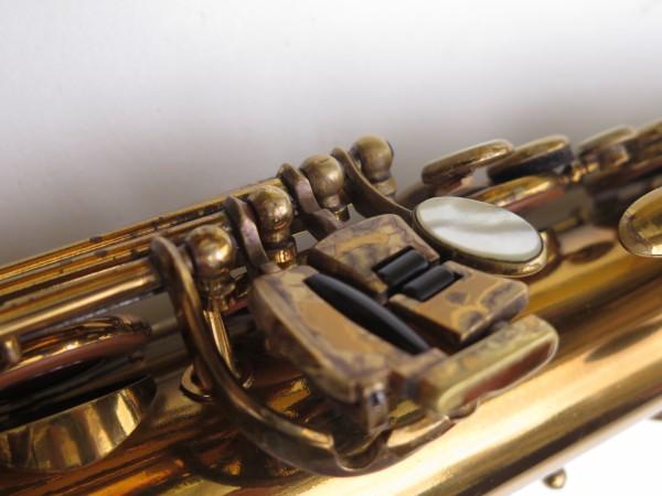 Saxophone ténor Selmer Mark 6 verni gravé double S (13)