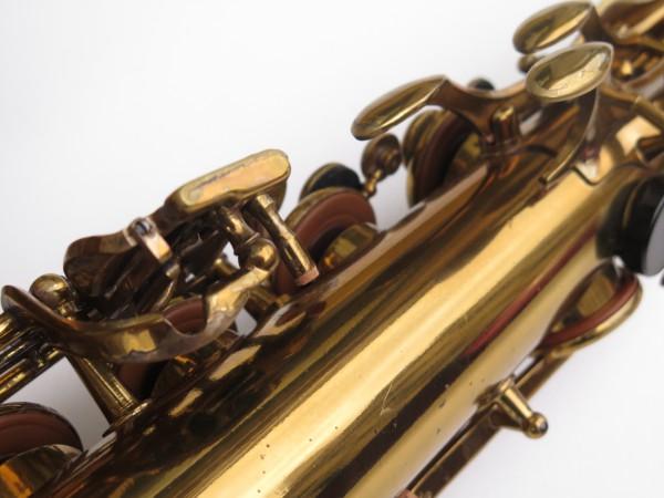 Saxophone ténor Selmer Mark 6 verni gravé double S (14)