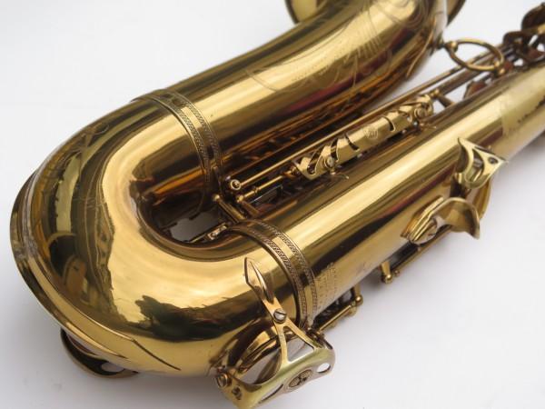 Saxophone ténor Selmer Mark 6 verni gravé double S (16)