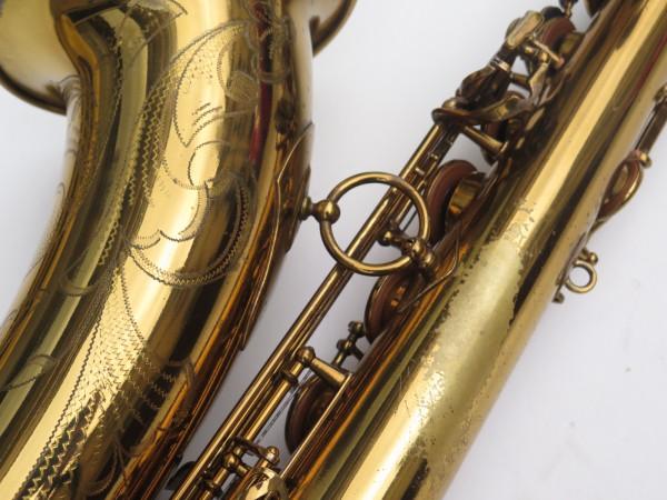 Saxophone ténor Selmer Mark 6 verni gravé double S (17)