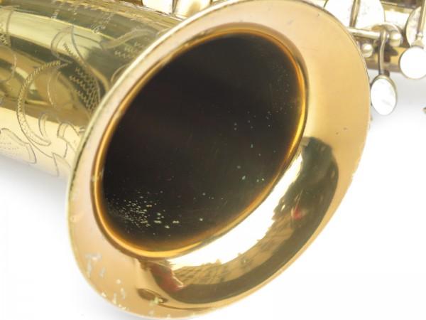 Saxophone ténor Selmer Mark 6 verni gravé double S (18)