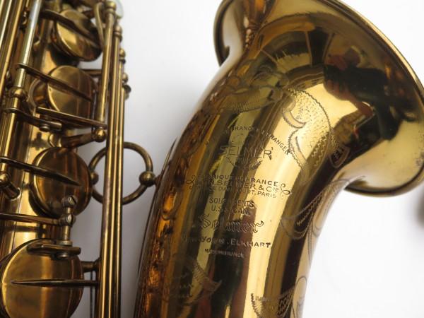 Saxophone ténor Selmer Mark 6 verni gravé double S (19)