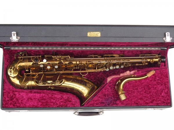 Saxophone ténor Selmer Mark 6 verni gravé double S (2)