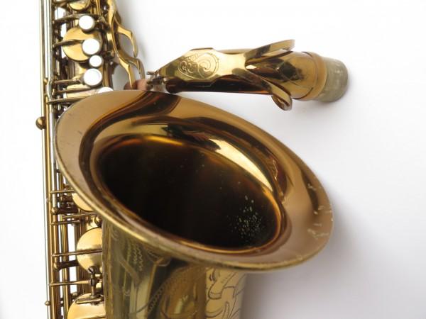 Saxophone ténor Selmer Mark 6 verni gravé double S (20)