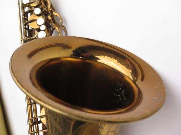 Saxophone ténor Selmer Mark 6 verni gravé double S (25)