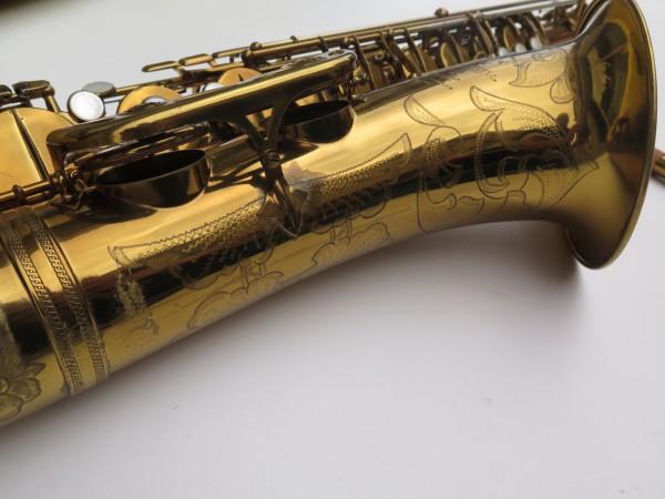 Saxophone ténor Selmer Mark 6 verni gravé double S (26)