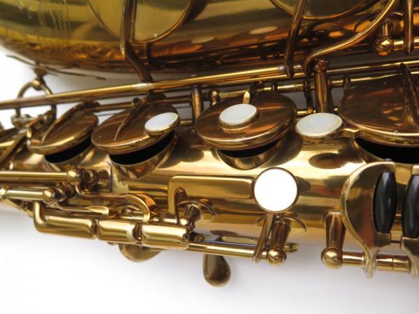 Saxophone ténor Selmer Mark 6 verni gravé double S (28)