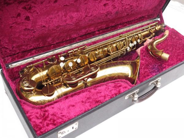 Saxophone ténor Selmer Mark 6 verni gravé double S (3)