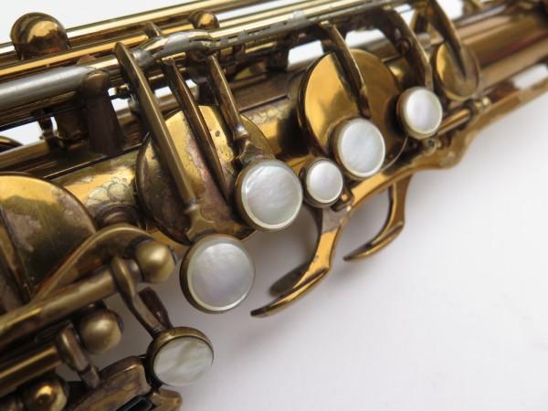 Saxophone ténor Selmer Mark 6 verni gravé double S (30)