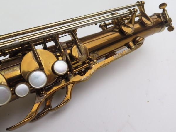 Saxophone ténor Selmer Mark 6 verni gravé double S (31)
