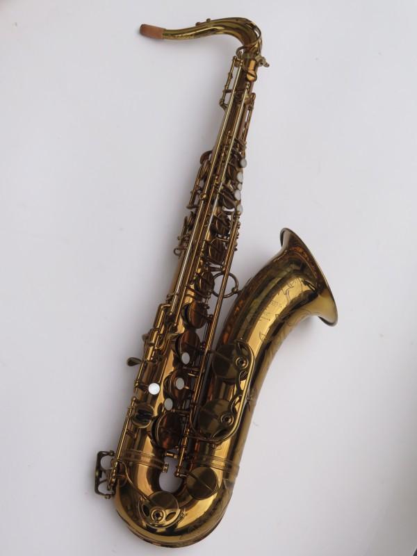 Saxophone ténor Selmer Mark 6 verni gravé double S (4)