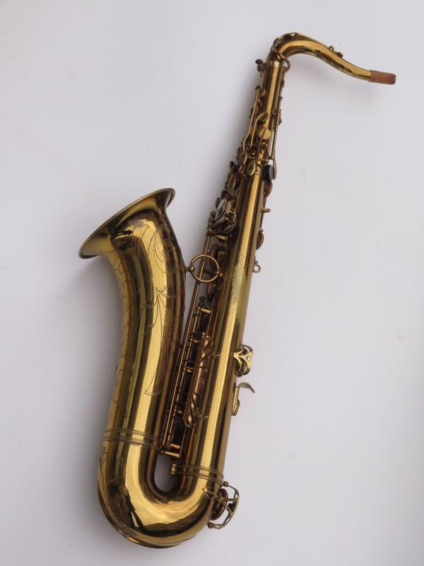 Saxophone ténor Selmer Mark 6 verni gravé double S (5)