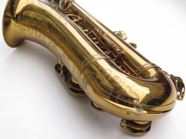 Saxophone ténor Selmer Mark 6 verni gravé double S (6)