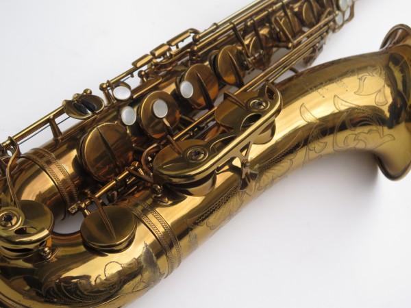 Saxophone ténor Selmer Mark 6 verni gravé double S (9)