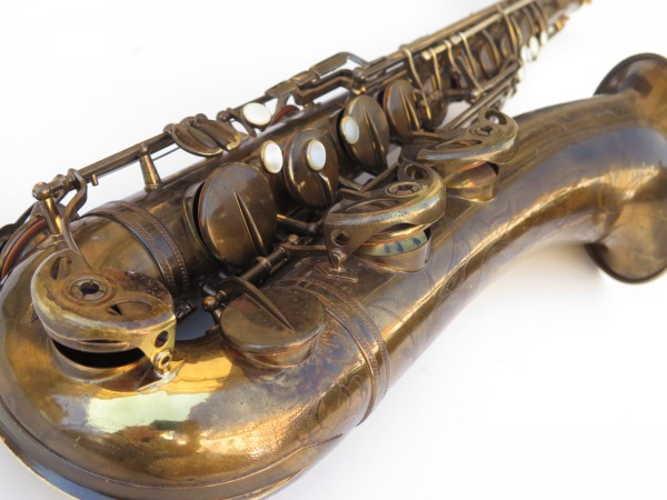 Saxophone ténor Selmer Super Baanced Action verni gravé (1)
