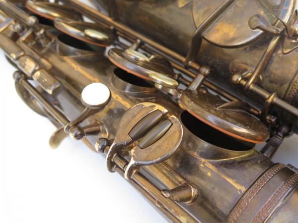 Saxophone ténor Selmer Super Baanced Action verni gravé (10)