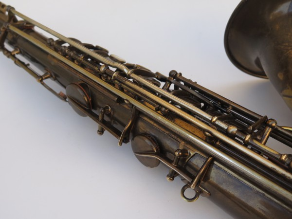 Saxophone ténor Selmer Super Baanced Action verni gravé (11)
