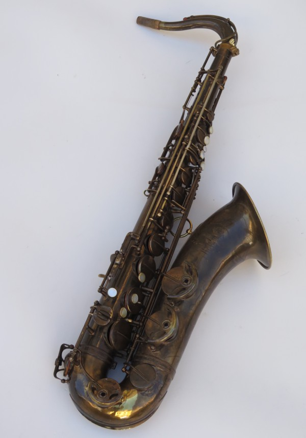 Saxophone ténor Selmer Super Baanced Action verni gravé (16)