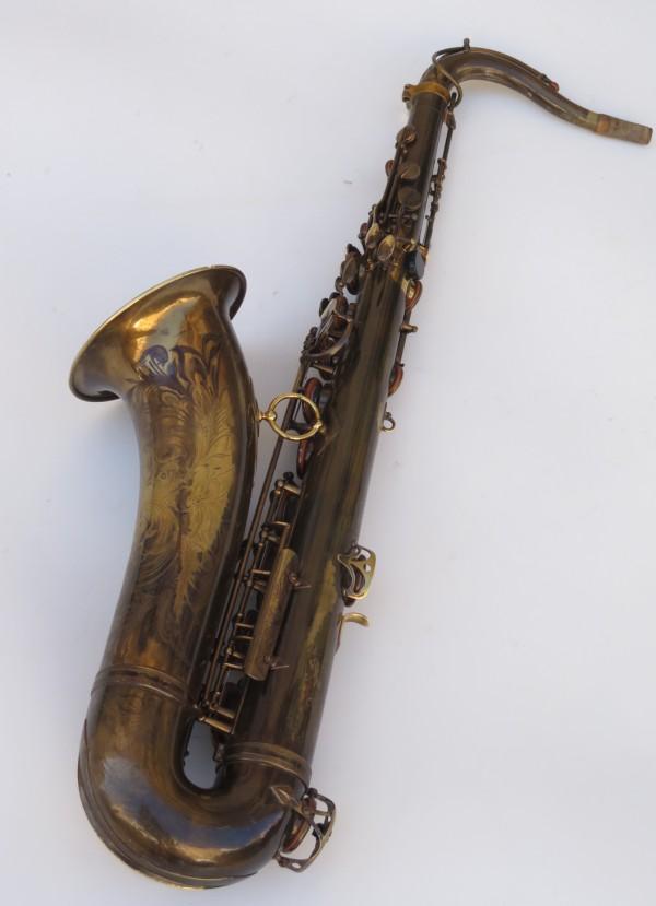 Saxophone ténor Selmer Super Baanced Action verni gravé (17)