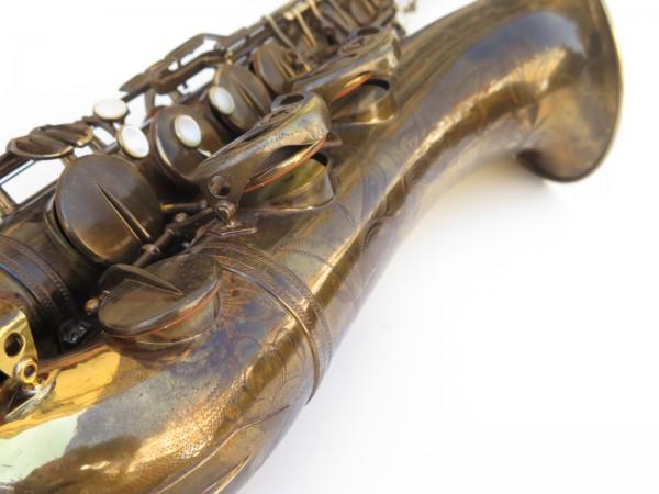Saxophone ténor Selmer Super Baanced Action verni gravé (23)