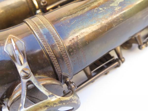 Saxophone ténor Selmer Super Baanced Action verni gravé (5)