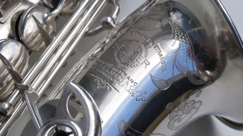 saxophone alto Selmer Balanced Action argenté gravé (1)