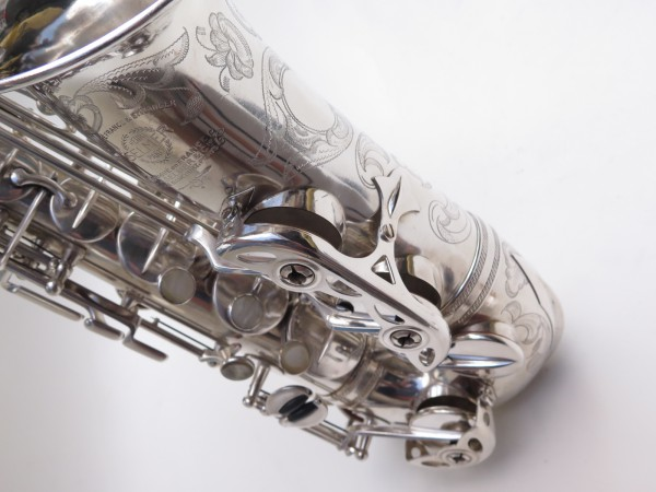 saxophone alto Selmer Balanced Action argenté gravé (11)