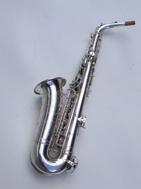 saxophone alto Selmer Balanced Action argenté gravé (13)