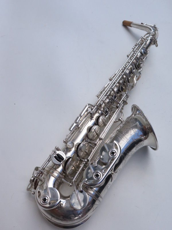 saxophone alto Selmer Balanced Action argenté gravé (14)