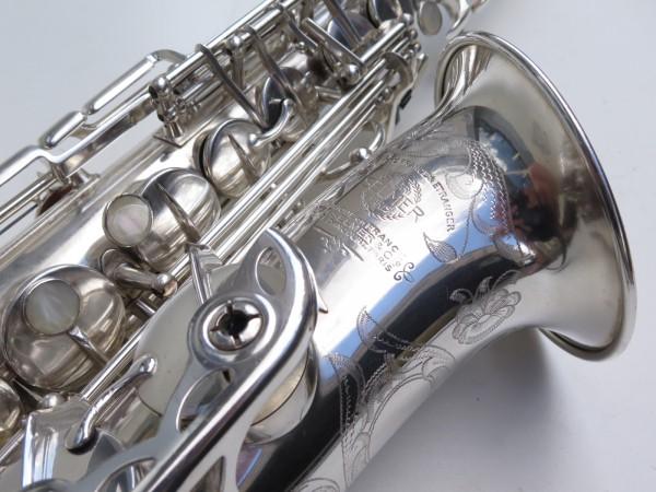 saxophone alto Selmer Balanced Action argenté gravé (15)