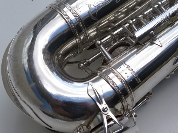 saxophone alto Selmer Balanced Action argenté gravé (3)