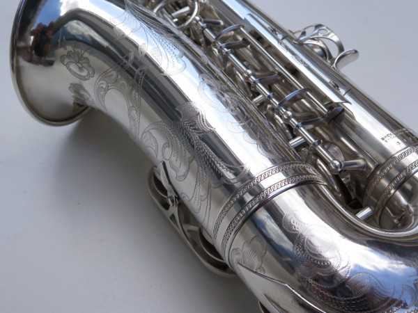 saxophone alto Selmer Balanced Action argenté gravé (4)
