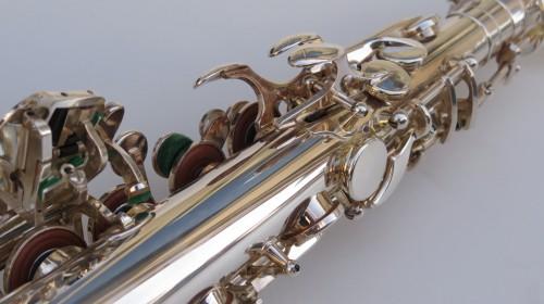 Saxophone alto Selmer Série 3 argenté gravé (1)