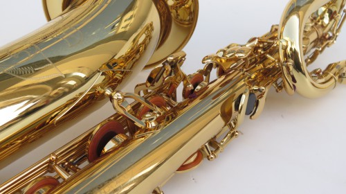 Saxophone baryton Yamaha YBS 62 verni gravé (1)