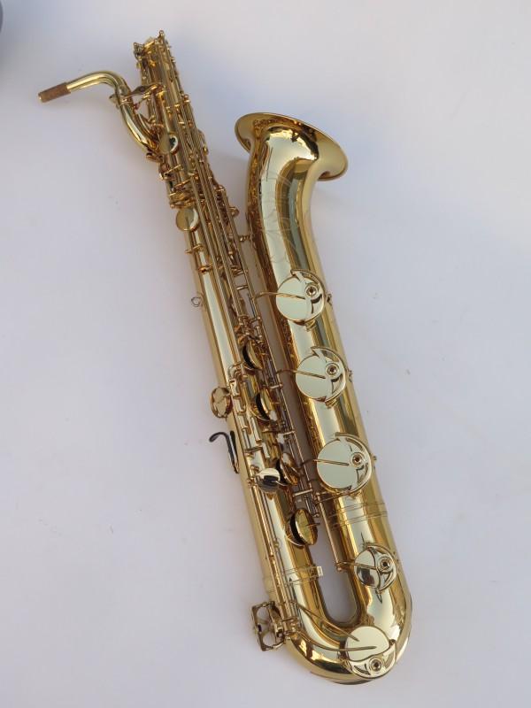 Saxophone baryton Yamaha YBS 62 verni gravé (11)