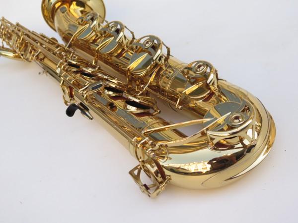 Saxophone baryton Yamaha YBS 62 verni gravé (12)