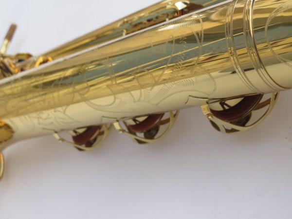 Saxophone baryton Yamaha YBS 62 verni gravé (2)
