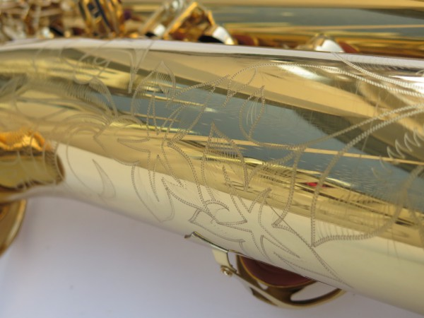 Saxophone baryton Yamaha YBS 62 verni gravé (3)