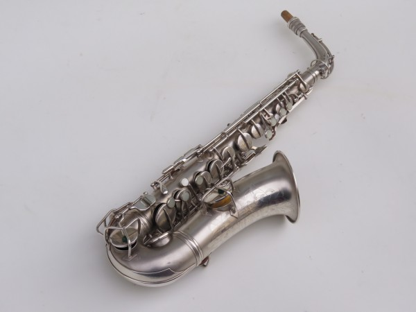 Saxophone alto Conn New Wonder argenté sablé (10)