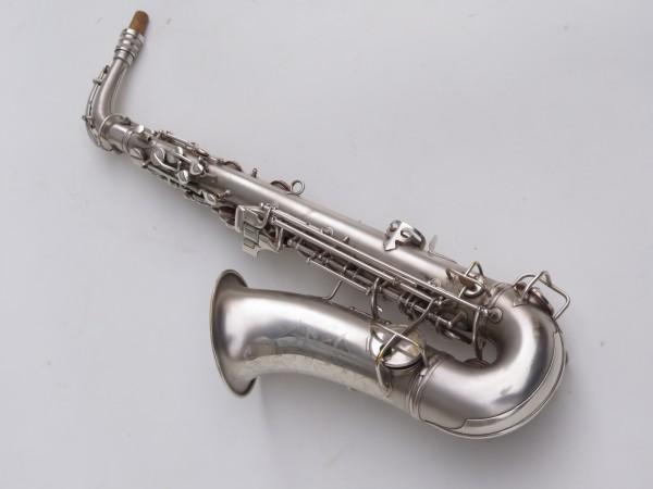 Saxophone alto Conn New Wonder argenté sablé (11)