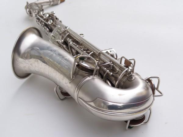 Saxophone alto Conn New Wonder argenté sablé (12)