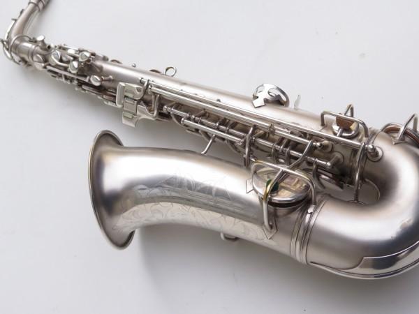 Saxophone alto Conn New Wonder argenté sablé (2)