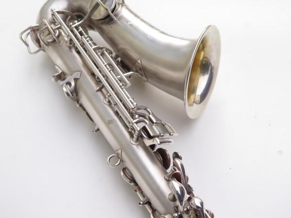 Saxophone alto Conn New Wonder argenté sablé (3)