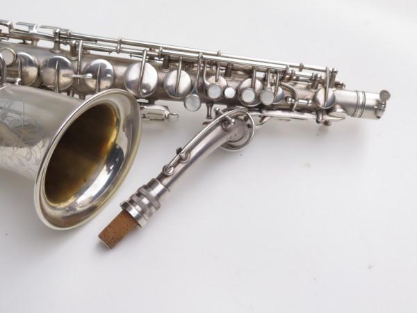 Saxophone alto Conn New Wonder argenté sablé (4)