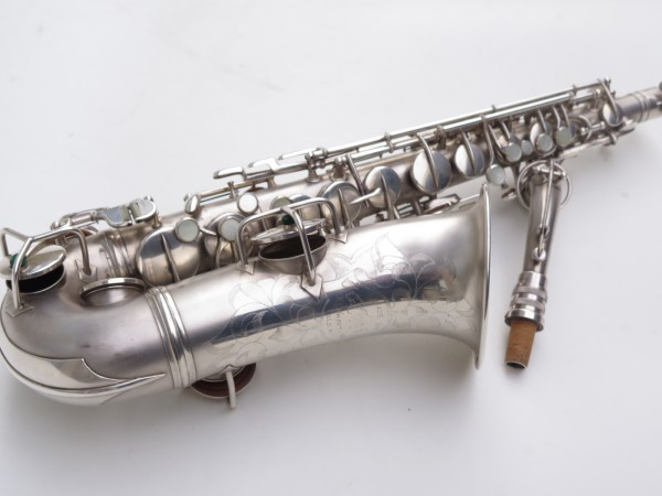 Saxophone alto Conn New Wonder argenté sablé (5)