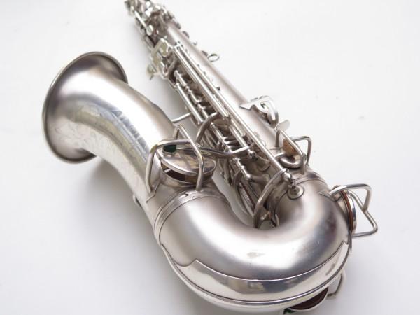Saxophone alto Conn New Wonder argenté sablé (6)