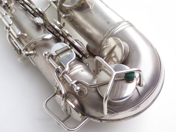 Saxophone alto Conn New Wonder argenté sablé (8)