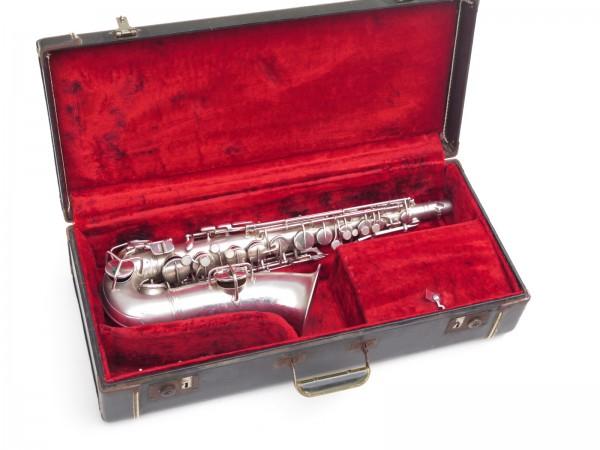 Saxophone alto Conn New Wonder argenté sablé (9)