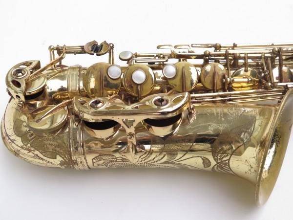 Saxophone alto Selmer Mark 6 verni gravé (2)